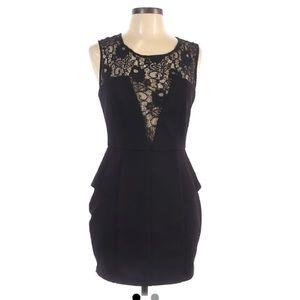 Bar III black Cocktail mini dress